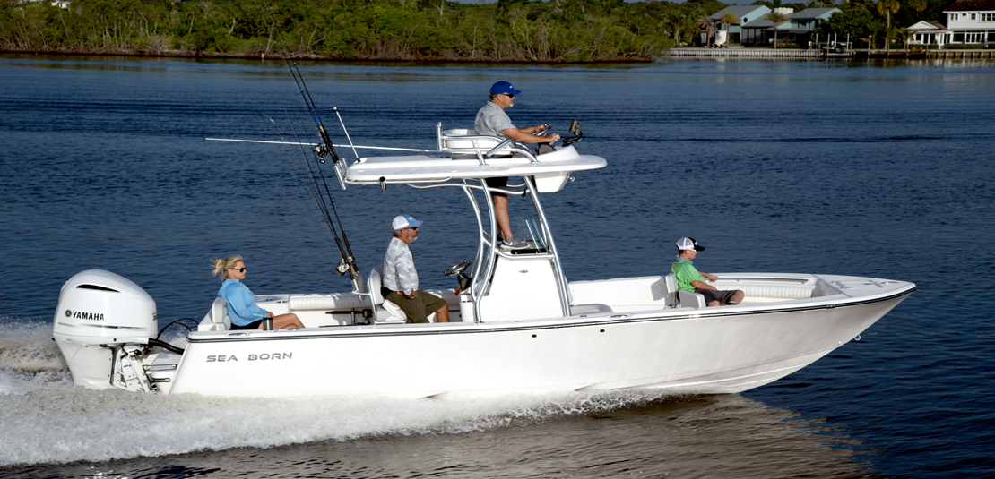Sea Born LX24 Center Console XE Upper Station