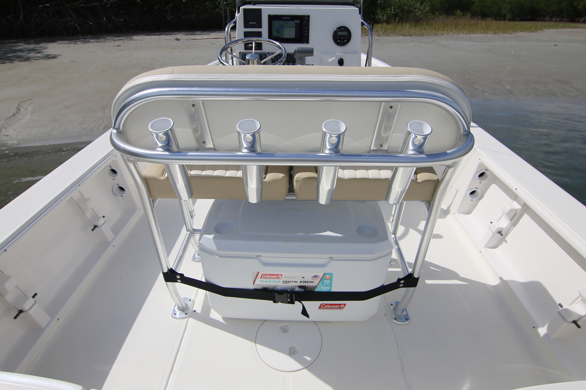 Bay Boat Center Console Rod Holders