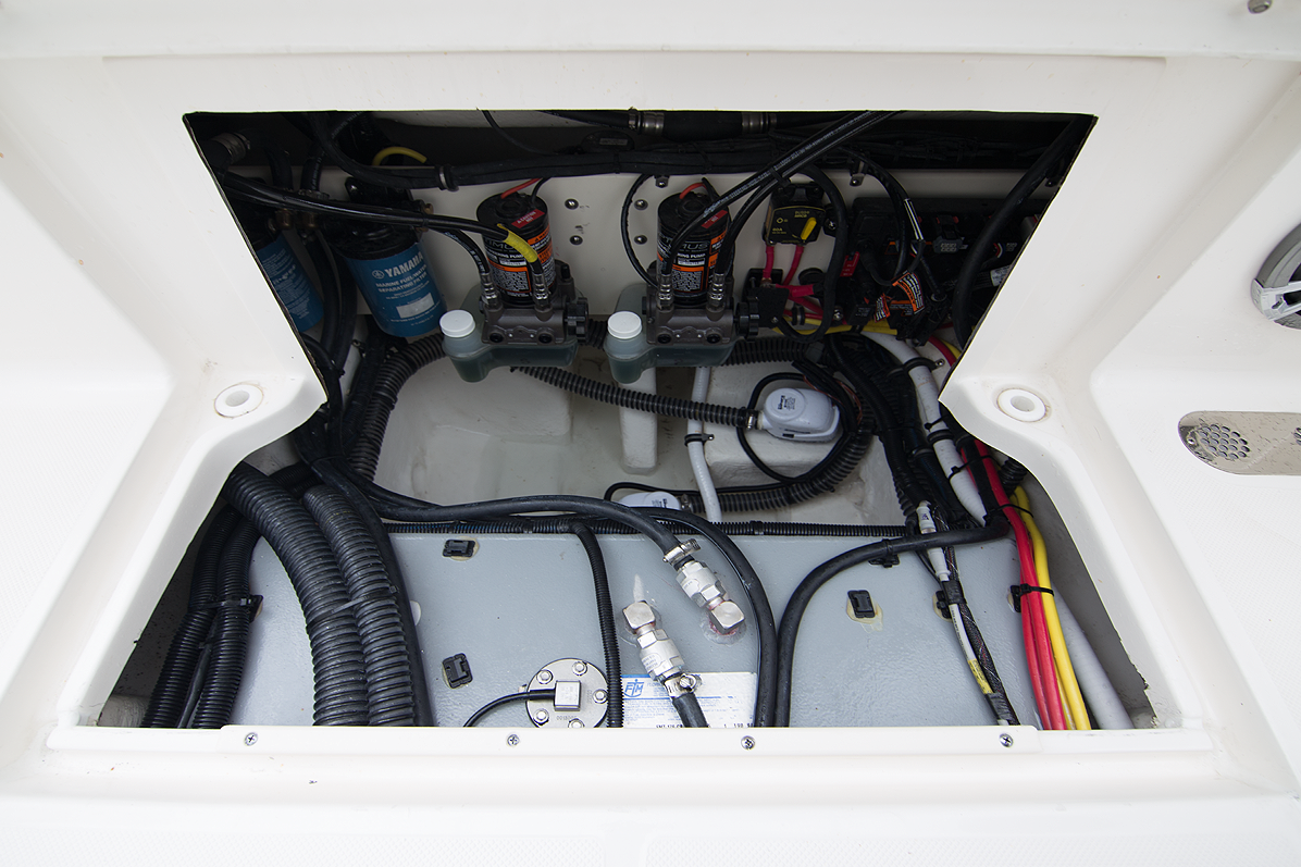 Offshore Boat Rear System Access