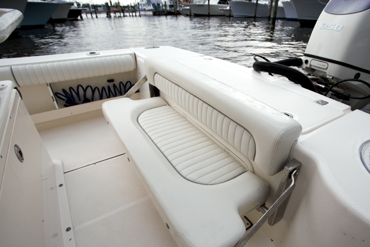 Bay Boat Rear Folding Bench Seat