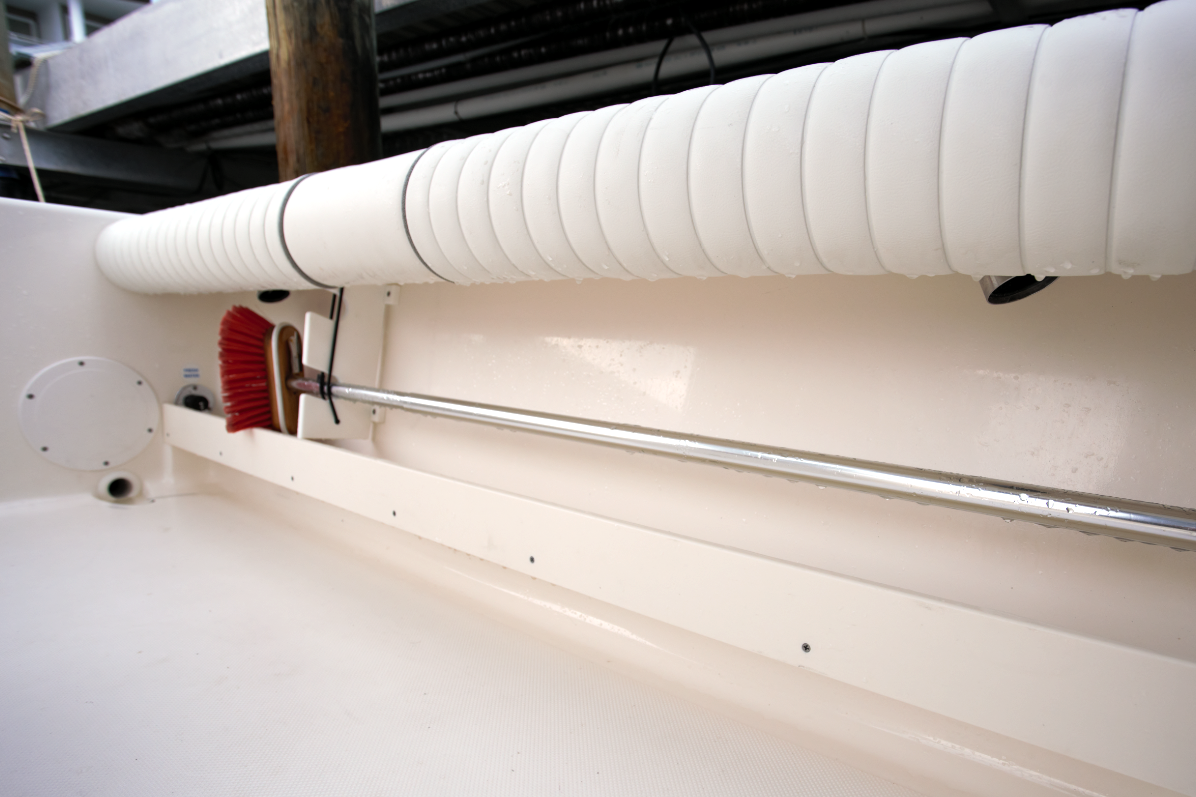 Bay Boats Coaming Cushions And Rod Storage